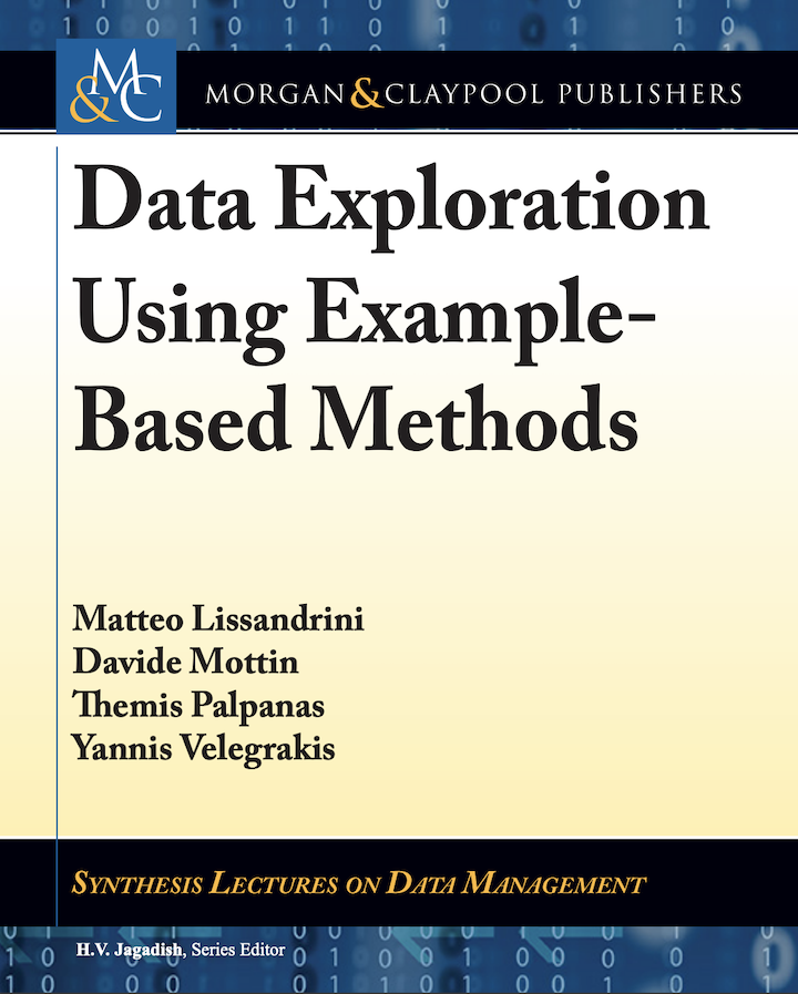 Cover of book: Data Exploration using Example-based Methods
